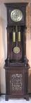 ART NOUVEAU CIRCA 1890'S TALLCASE GRANDFATHER CLOCK