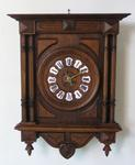 COUNTRY FRENCH CHIMMING WALL CLOCK