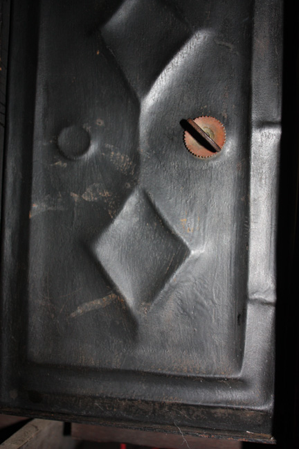 INNER MOVEMENT METAL ACCESS DOOR