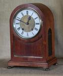LENZKIRCH TING-TANG ARCH TOP MANTEL CLOCK